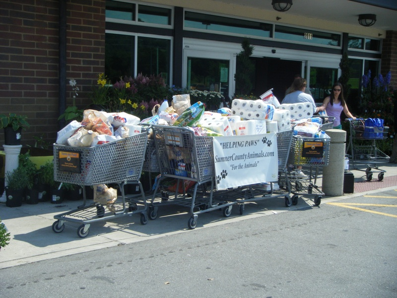 A portion of the donations made