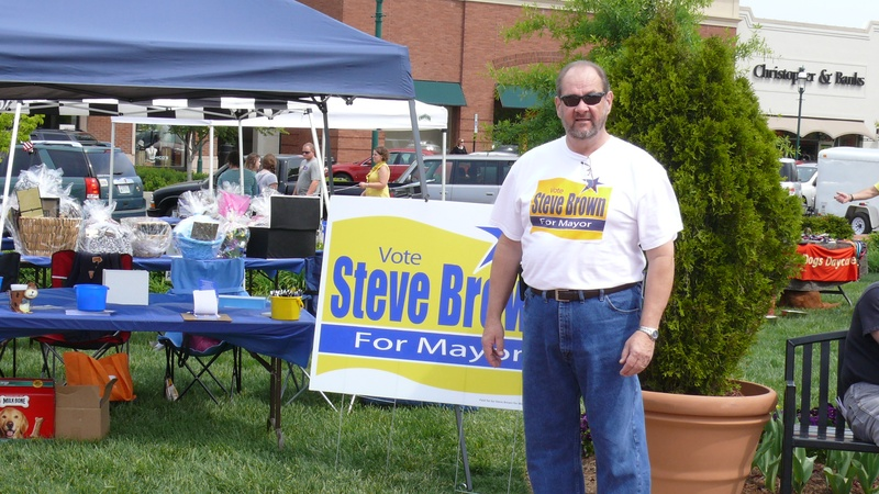 Steve Brown For mayor!!